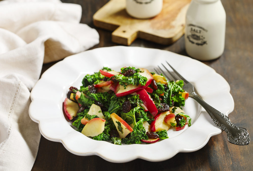 Autumn Apple & Kale Salad
